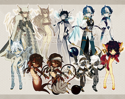 ::Adoptables:: NOT FOR SALE n Customs B4 by Jotaku