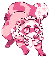 PONKO PIXEL by behemutt