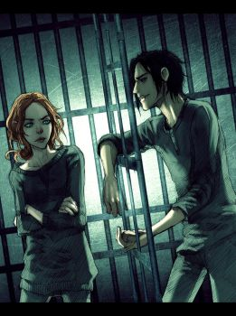 Soulless: Cell Mates by JacintaMaree