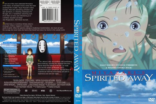 SPIRITED AWAY DVD Cover by YoshioKun13