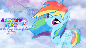 Rainbow dash, is the fly by asedente