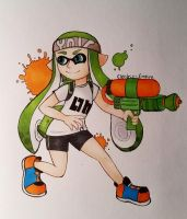Ma Splatoon Character by Electric-Empire