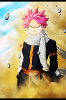 Fairy Tail 435 - Natsu Dragneel by mxndxs
