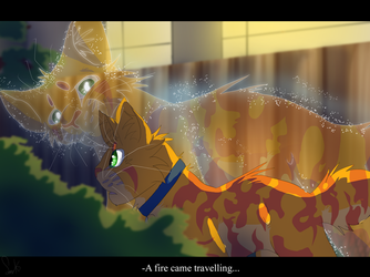 A Fire Came Travelling (Warrior Cats) by WarriorCat3042
