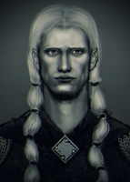 Elu Thingol - King of Menegroth by Vinyamare