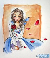 Belle - Beauty and the Beast by MaruExposito