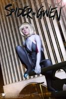 Spider Gwen City by JillStyler