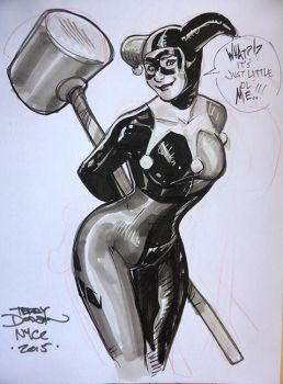 Harley Quinn NYCC 2015 by TerryDodson