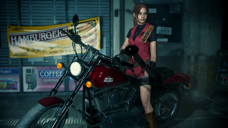 Resident Evil 2 Remake Claire Classic Costume Edit by RubyofBlue
