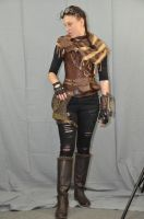 Post Apocalyptic Steampunk Preview by lucretia-stock