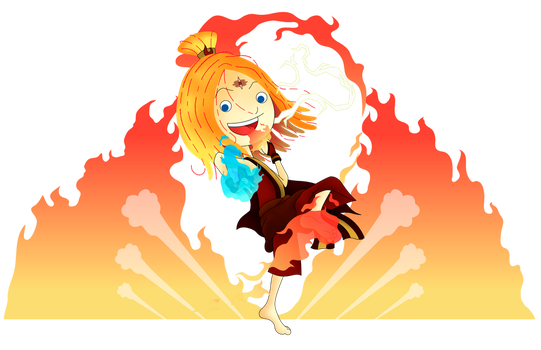 Molly the Firebender by mickeyelric11