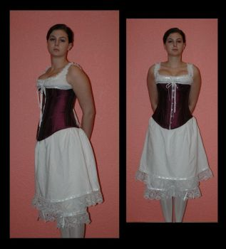 1870-80 Corset by immortalphoenix