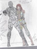 Engaged.in battle and in love. by MsTwennyFaahve