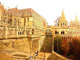 The Castle in Budapest by XMarianthiT