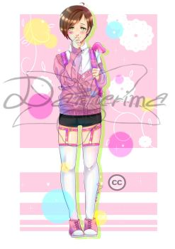 FullfBody Giveaway from Anime Amino by Darkerima