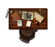 Wizards Desk by dm142