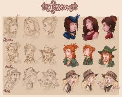 Tistow Concept Art: Morrie - Jack - Tag by ElliPuukangas
