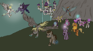 Call upon the heroes of Equestria by DragonsAndDreamscape