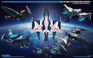Overview | Knight-class Interceptor by Auctor-Lucan