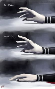 I Will Save You... (Tokyo Ghoul) by VilenH