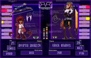 [ V R ] Kanza and Anya by Uvrenaux