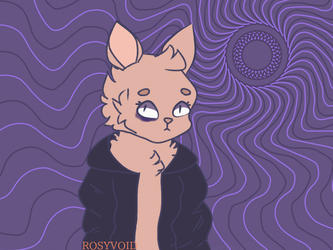 jacket cat by rosyvoid