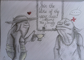 Contest: Hobbe Nobbing With The Elites by Tinalbion