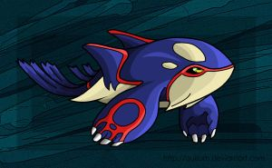 Kyogre by Quisum