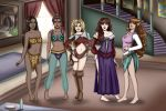 The Ladies of Quest for Glory by theunseenunsealer