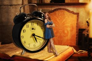Against the Clock by Branka-Johnlockian