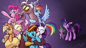 What About Discord? (My Little Reviews Thumbnail) by salvicorn