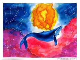 when whales will paint the sun by vinnie-ta