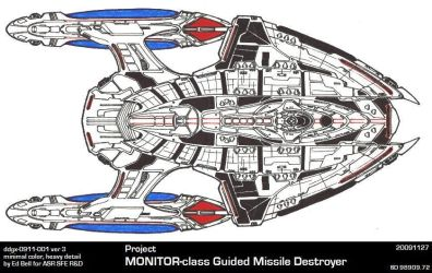 Ships of ASR-UFP-MONITOR v3 by GhostRider2007