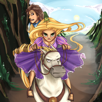 Tangled: Fifty by NyammiToast