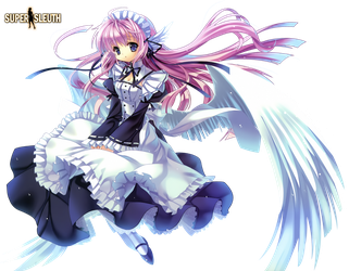 Angel Maid Render by SuperSleuth10