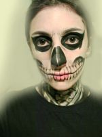 Tate Langdon- American Horror Story Makeup by CamilaCostaArt