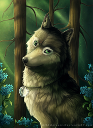 Blooming Forest - Commission by WildWolvess