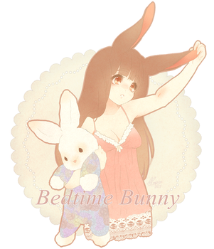 Bunny Bedtime by puddinprincess
