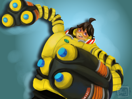 ARMS - Mechanica by BKcrazies0
