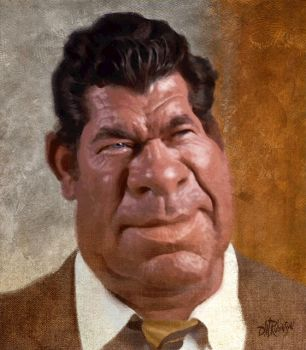 Claude Akins by wooden-horse