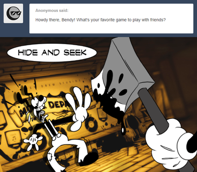 Ask Bendy 225 by FractiousLemon