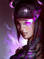 Juri Bust by JimboBox