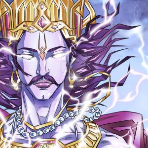 King of Heaven and Bringer of Storms - Lord Indra