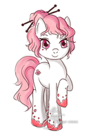 ADOPTABLE: Cherry Blossom [CLOSED] by tiannangel