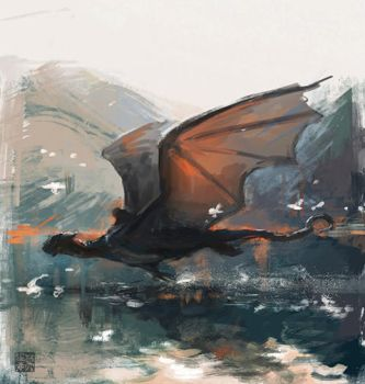 Random dragon by monikapalosz