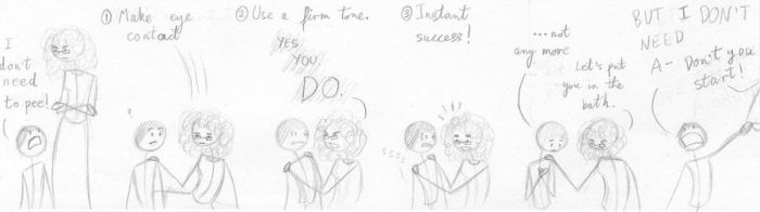 How to convince a child by Desert-Lilly