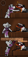 Interrogation (FNAF 6 Comic) Pt.4 by Blustreakgirl