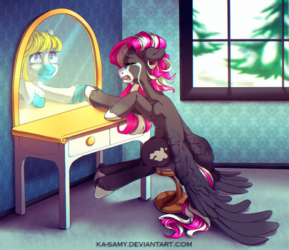 Commission for the---raven by ka-samy