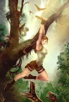 YOLO - 20 Years of Tomb Raider by Forty-Fathoms