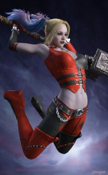 Harley Quinn - 3 by johngate2014
